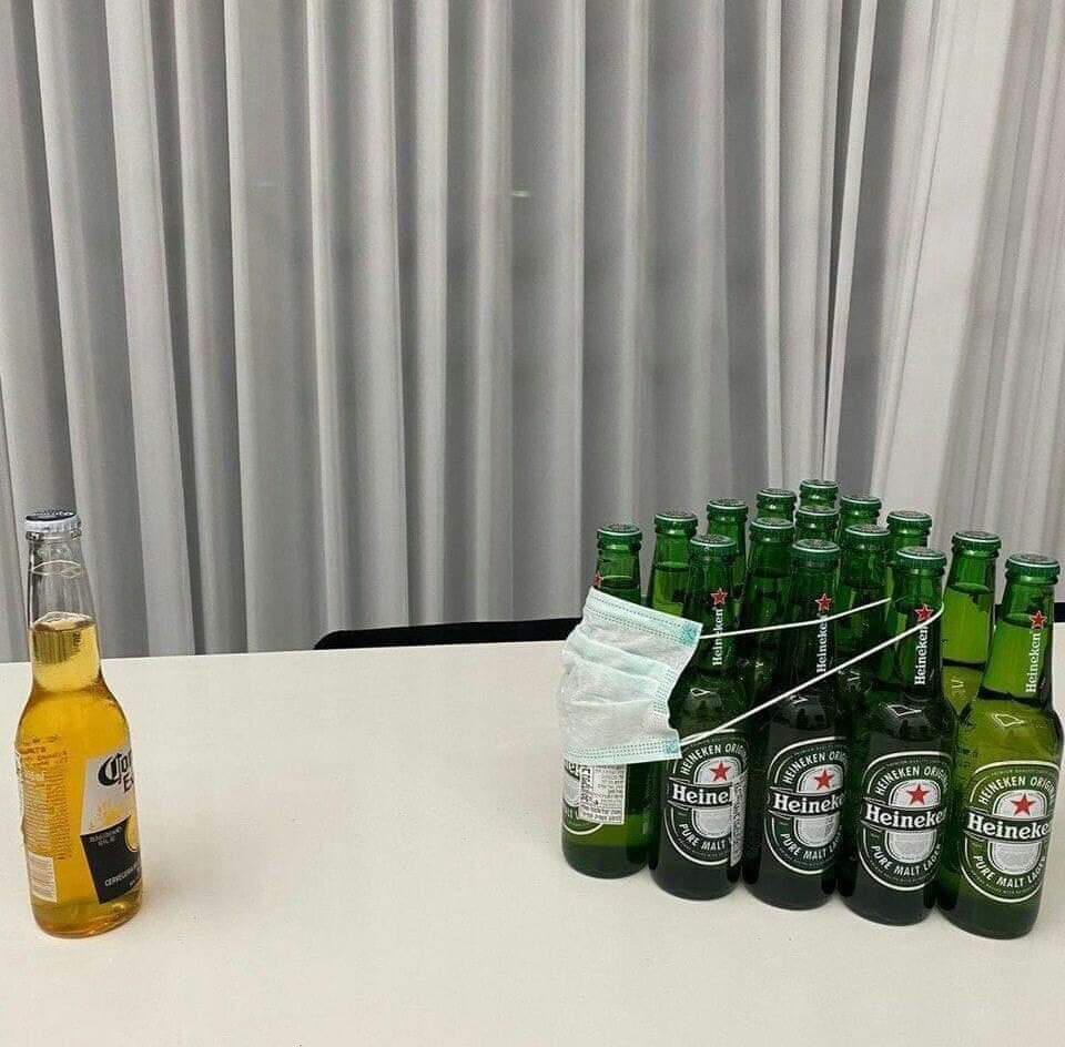 Corona Beer Reacts to Virus Comparisons