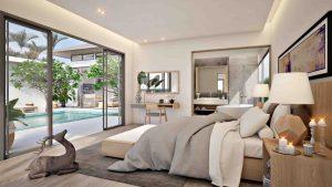 Inside Bedroom Shambhala Villas Phuket