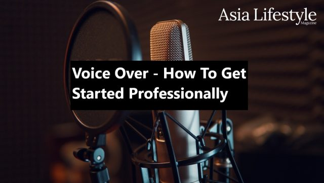 Voice Over - How To Get Started Professionally